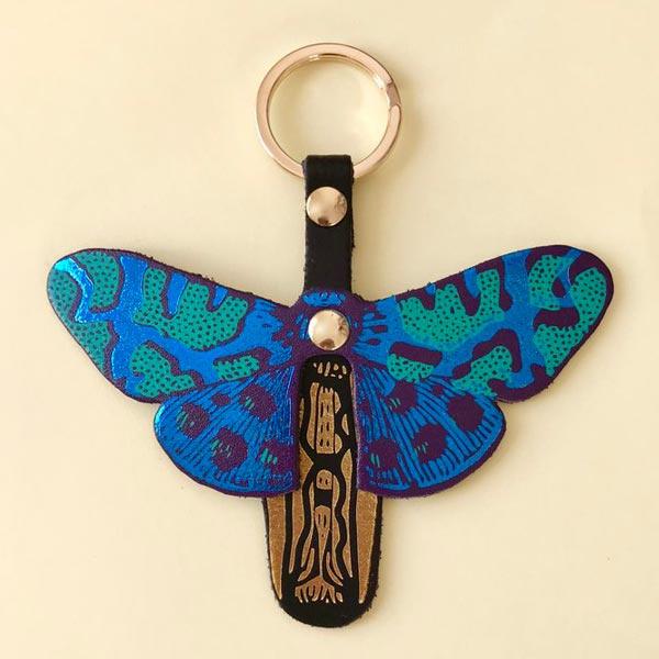 Key fob / sleutelhanger 'Butterfly' - Ark Colour Design