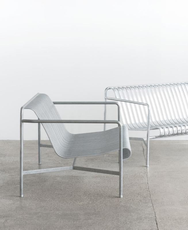 Palissade Chair Hot Galvanised - HAY