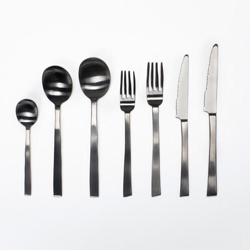 Bestek Maarten Baas zwart - Valerie Objects