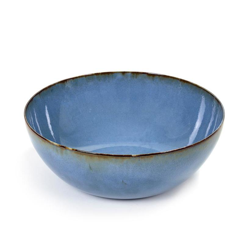 Grote (sla)Kom 27 cm Smokey Blue - Serax / Anita Le Grelle