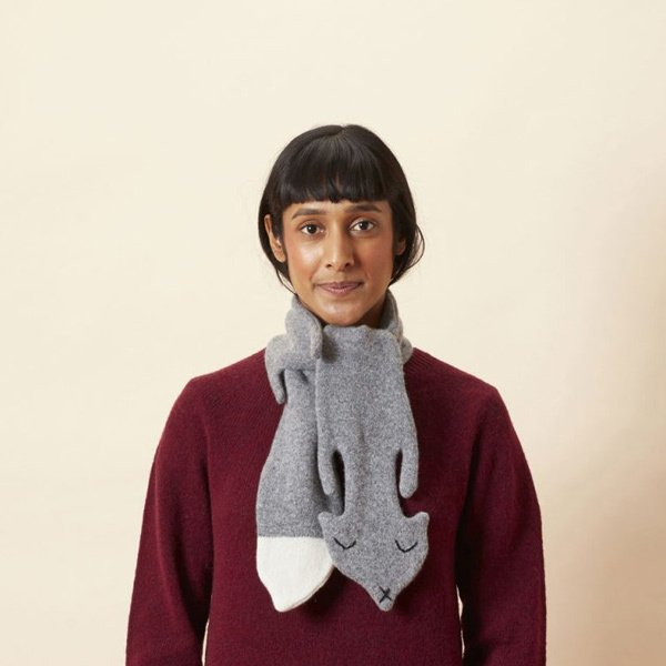 Vos sjaal - grey - Donna Wilson