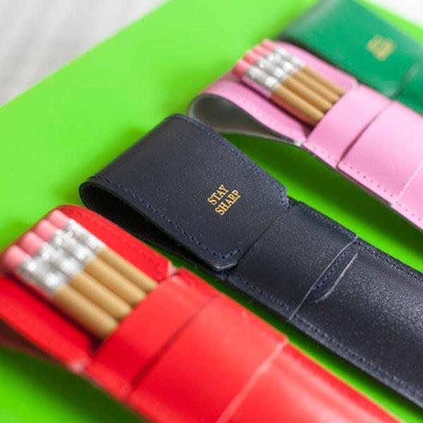 'Stay sharp' pencilcase / potlood etui - Ark Colour Design