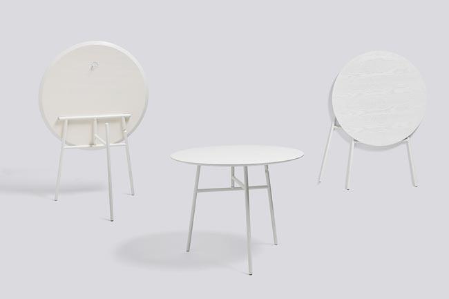 Inklapbare ronde Tilt Top Table / Tafel - HAY