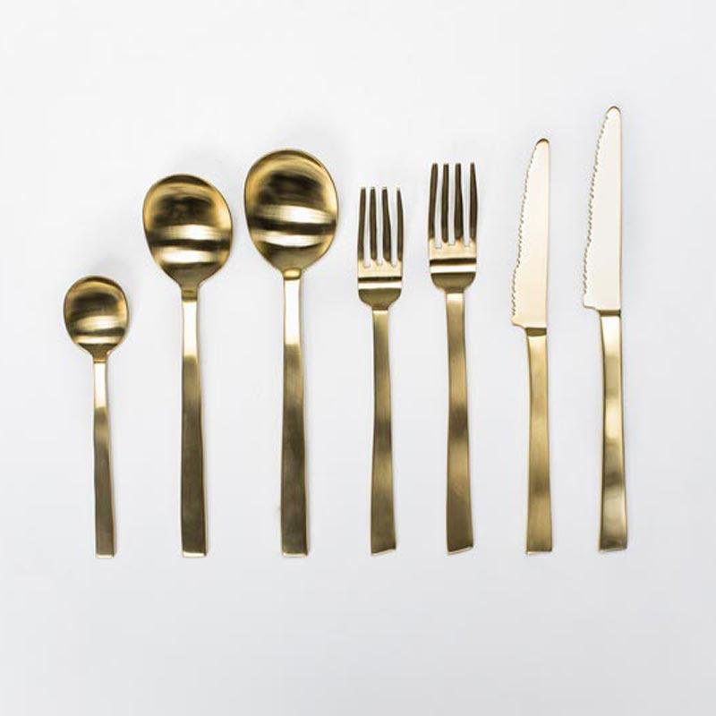 Bestek Maarten Baas messing / brass - Valerie Objects