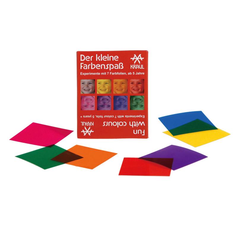Educatief speelgoed: Kleurenexperiment