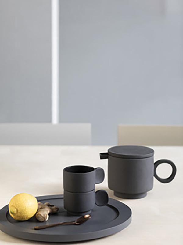 Servies 'Inner Circle' Maarten Baas: Theepot - Valerie Objects