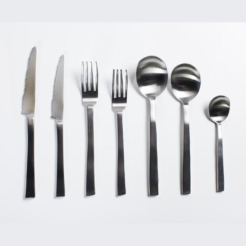 Bestek Maarten Baas roestvrij staal - Valerie Objects