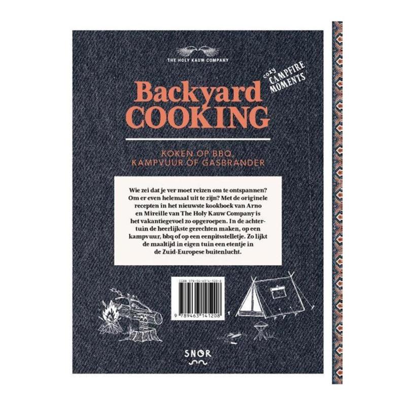 Kookboek: Backyard Cooking - Arno & Mireille van Elst