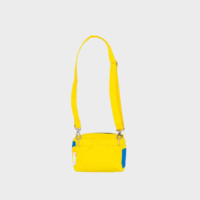 The New Bum Bag S 'TV yellow & blueback' Handtas / Heuptas - Susan Bijl