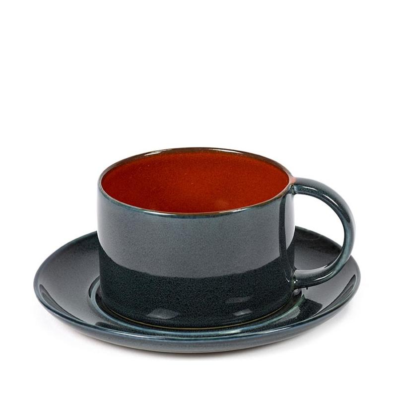 Schoteltje voor koffiekop Dark Blue - Serax / Anita Le Grelle