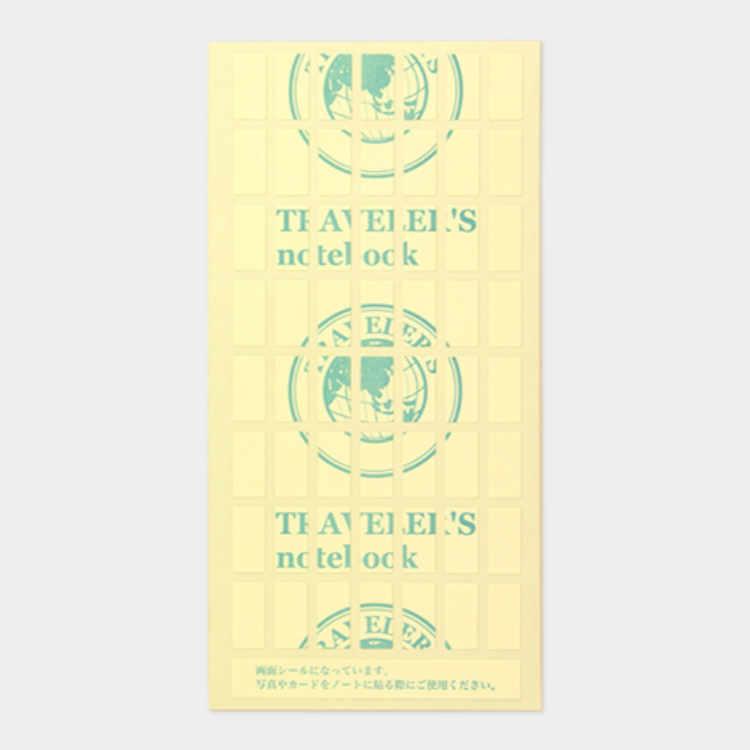 Refill 010 both side sticker voor Traveler's Notebook - Traveler's Company