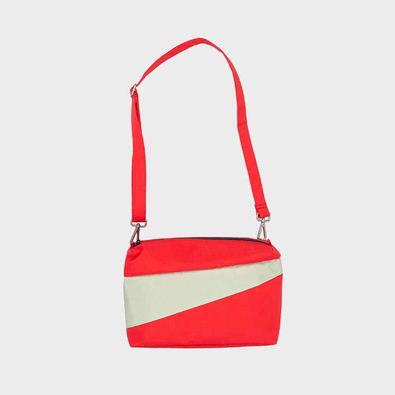 The New Bum Bag M 'Redlight & Pistachio' Handtas / Heuptas - Susan Bijl