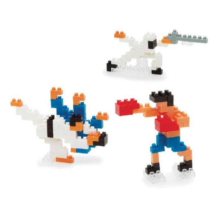 'Martial Arts' (Vechtsport) Japans mini lego - Nanoblocks