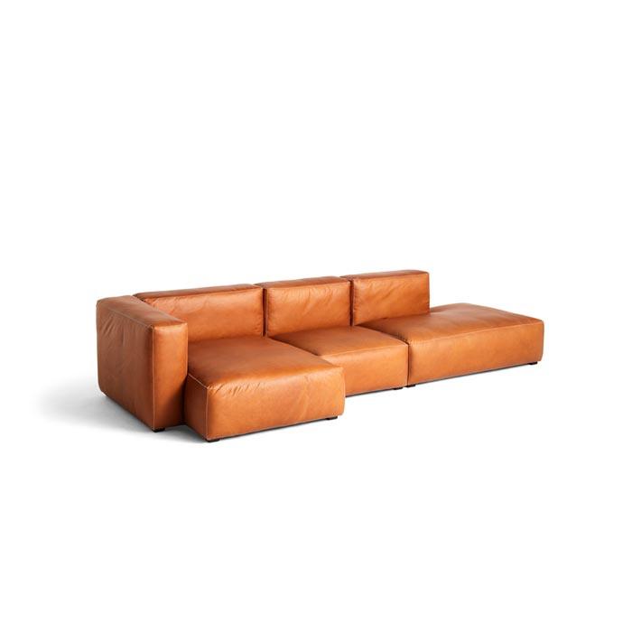 Mags Soft Sofa -  3 zits bank met chaise longue en lounge einde 338 cm