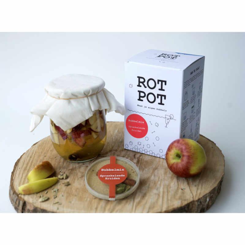 RotPot Bubbels - Zelf Limonade / Appelcider maken pakket