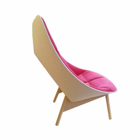 Uchiwa fauteuil Harald / Steelcut Trio - HAY