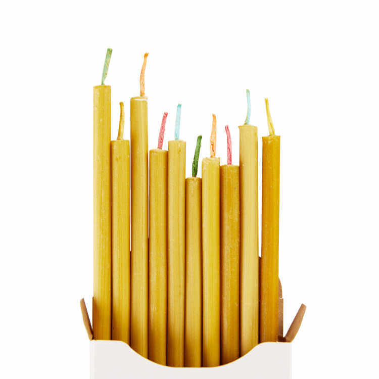 Dunne kaarsen van bijenwas - OVO Things