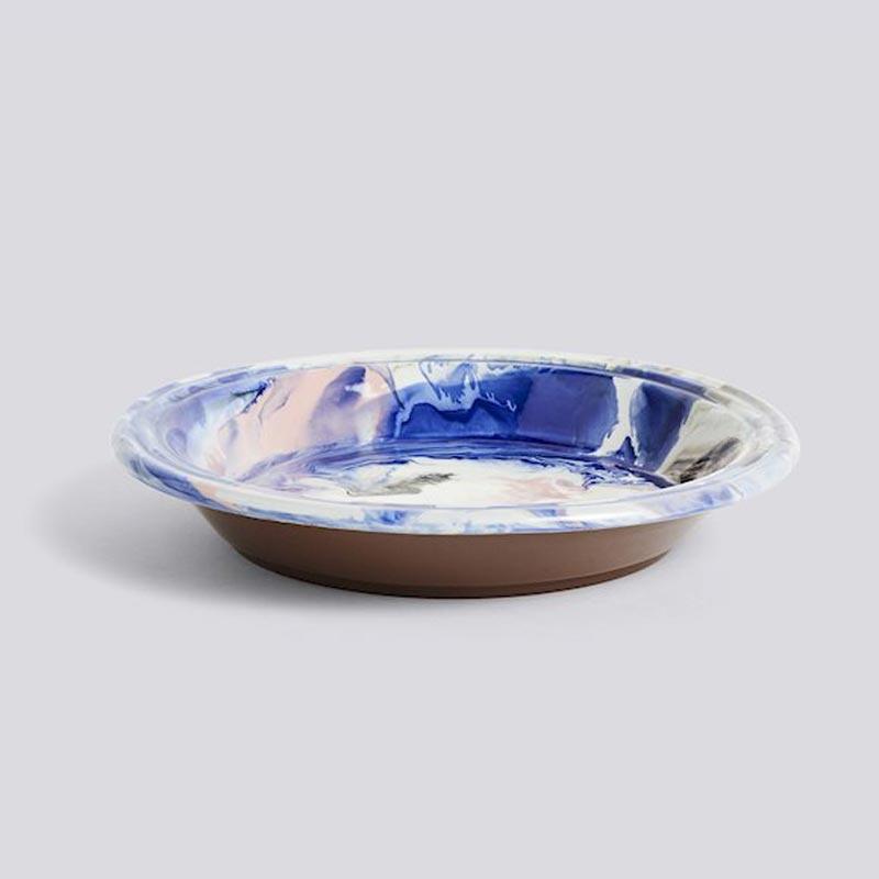 Swirl Bowl / Decoratieve terracotta (oven) schaal - HAY