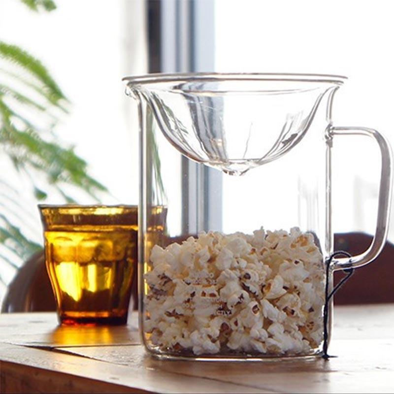 Kan Glas In De Magnetron.Popcorn Maken In De Magnetron Met Het Japanse Puebco