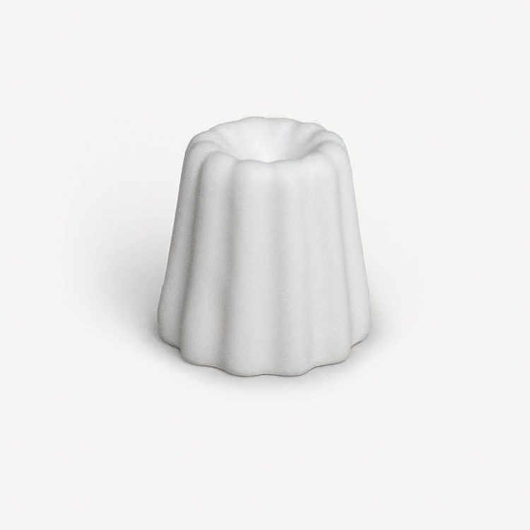 Porseleinen kaarsenhouder voor dunne kaarsen - OVO Things