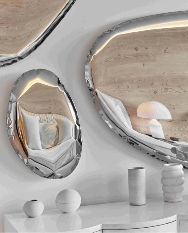 Tafla mirrors Rond (Oko) - Zieta