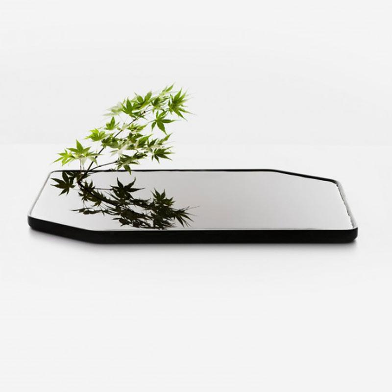 Platte vaas Large 'Plan vase' - Sébastien Cordoleani / Moustache