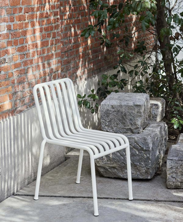 Palissade Tuinstoel zonder armleuning - HAY
