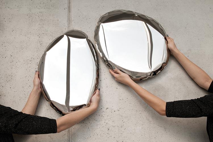 Tafla mirrors Ovaal I - Zieta