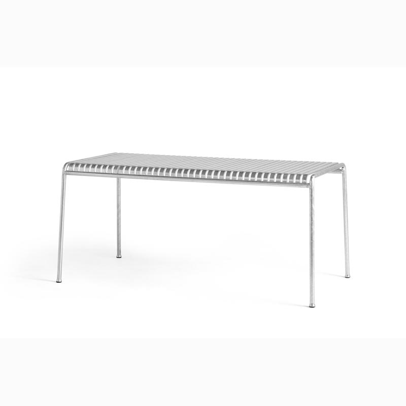 Palissade Large Table Hot Galvanised - HAY