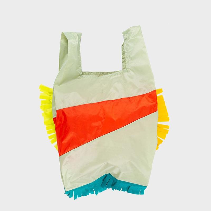 Shoppingbag L 'Fringe Party Red Alert' - Susan Bijl x Bertjan Pot