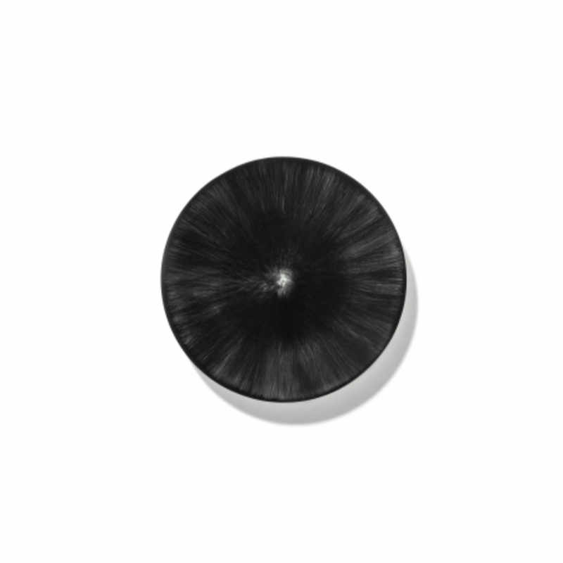 Servies Dé - Schoteltje / bordje 14 cm Off-White/Black var 6 - Ann Demeulemeester Serax