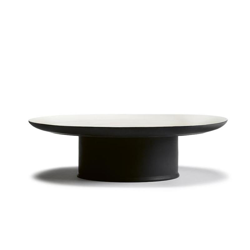 Servies Ra - Taartplateau 33 cm Black Off White - Ann Demeulemeester Serax