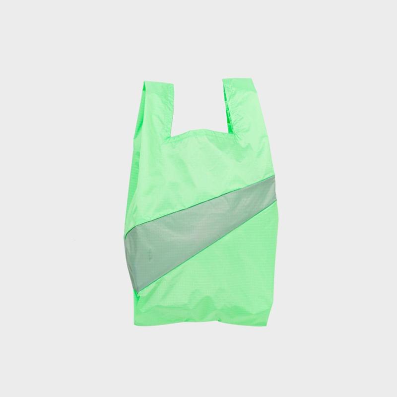 Shoppingbag M 'error & grey' - Susan Bijl