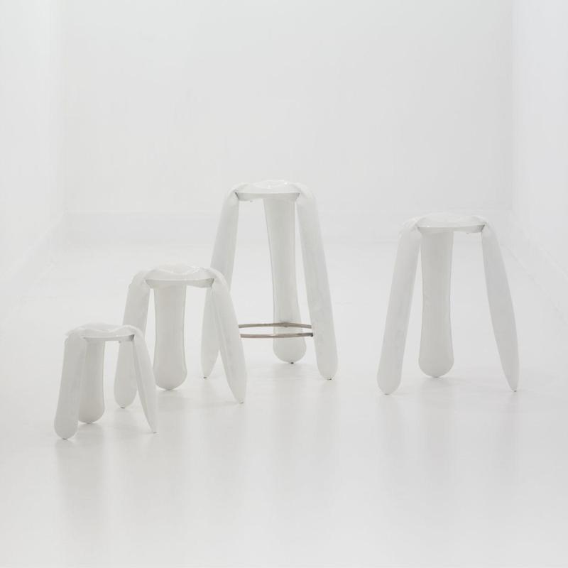 Kruk plopp Standaard (H50 cm) Koper - Zieta