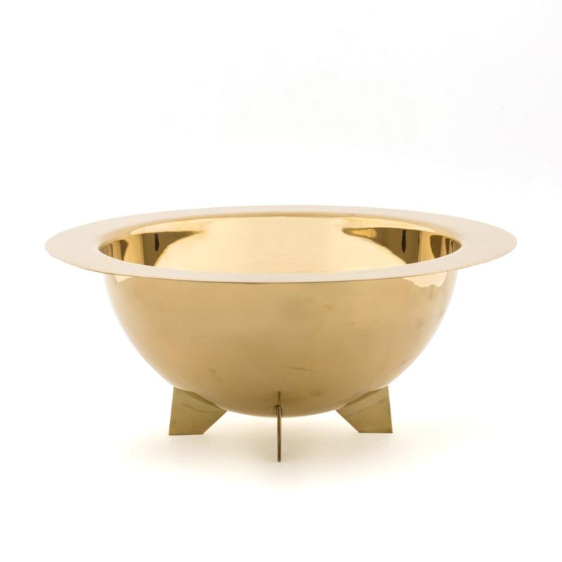 Cosmic Diner - Messing Slakom / Lunar Salad bowl - Seletti Diesel Living