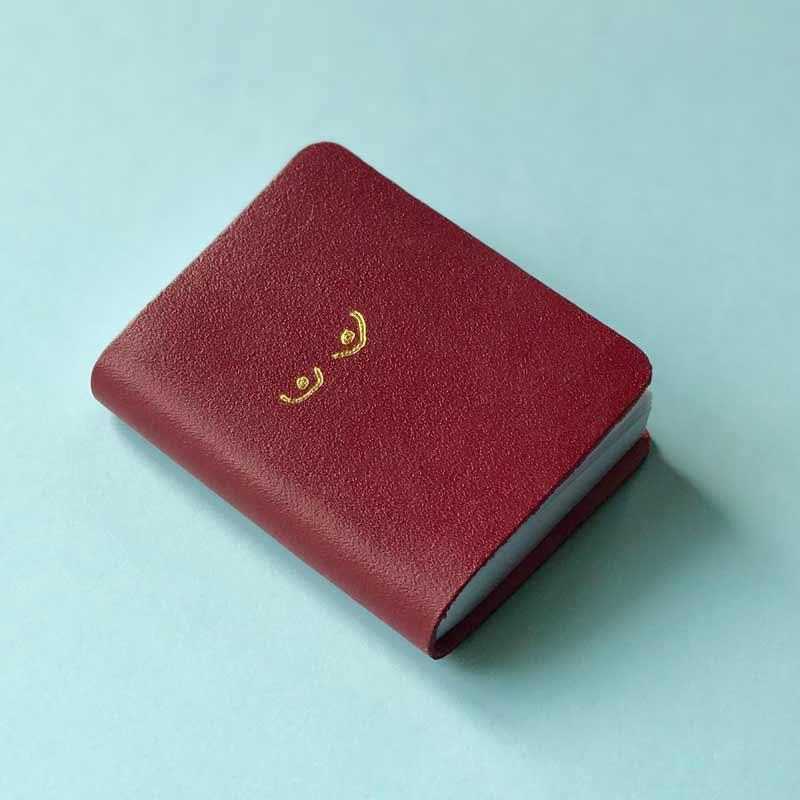 Mini book boob / klein notitieboek - Ark Colour Design