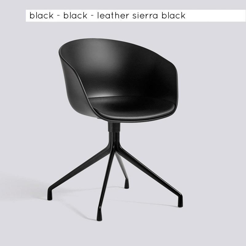 AAC20 - draaibaar onderstel - gestoffeerd zitkussen
