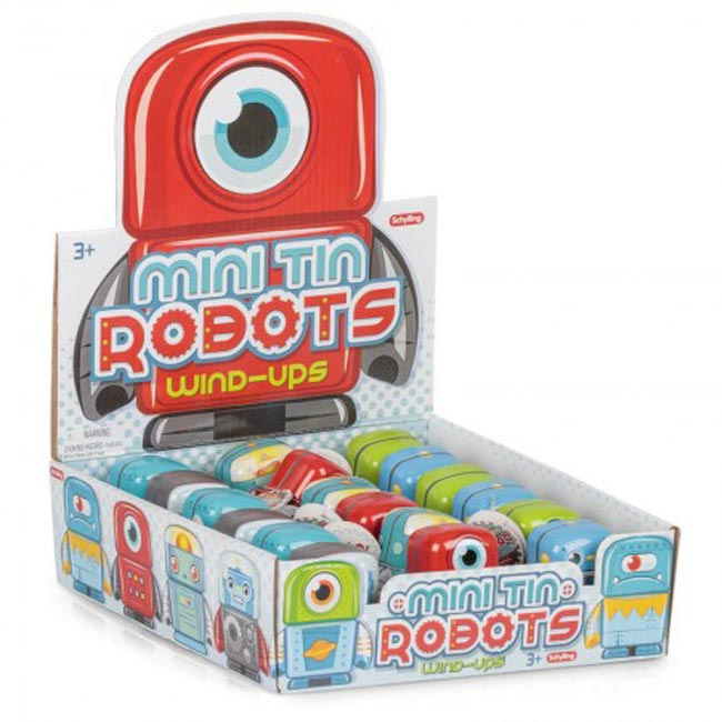 Mini tin robot - Schylling