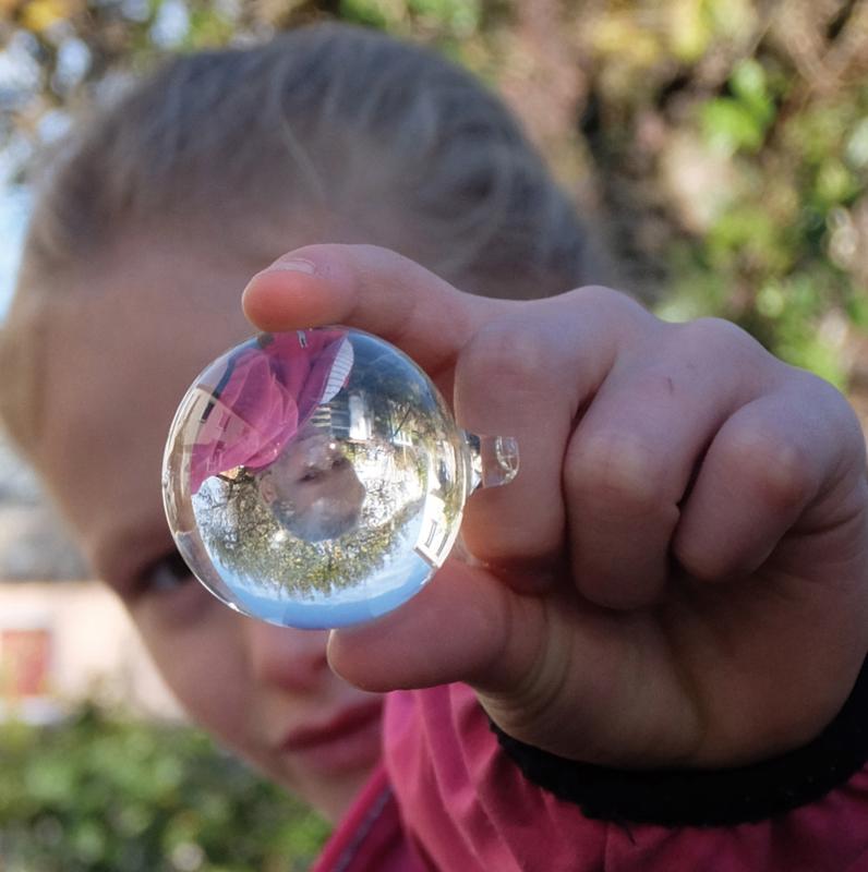 Educatief speelgoed: Glazen bal lens