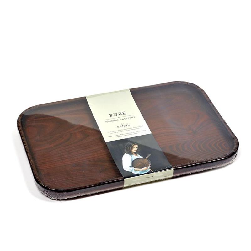 Rechthoekig houten Dienblad 36 x 24 cm - Serax / Pascale Naessens