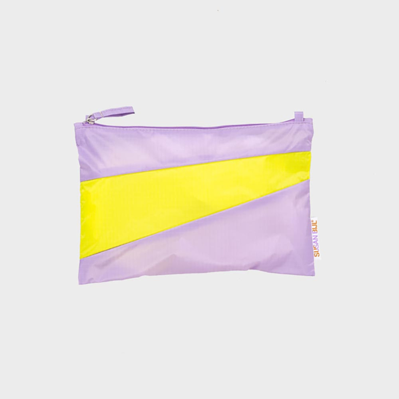 The New Pouch M 'idea & fluo yellow' - Susan Bijl