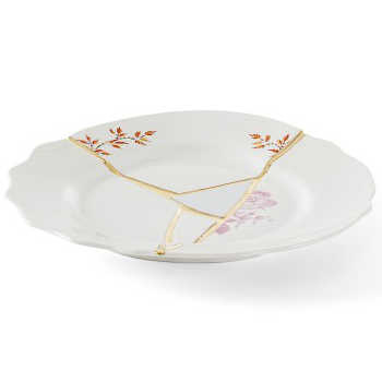 Kintsugi servies - Dessertbord (no.1) 21 cm - Seletti
