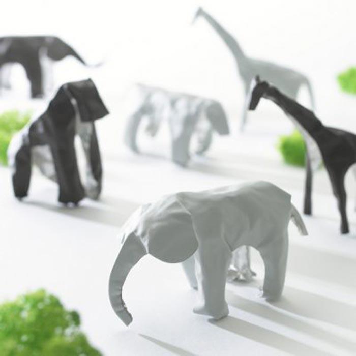 Japanse Pop up animals - Kaiko +d