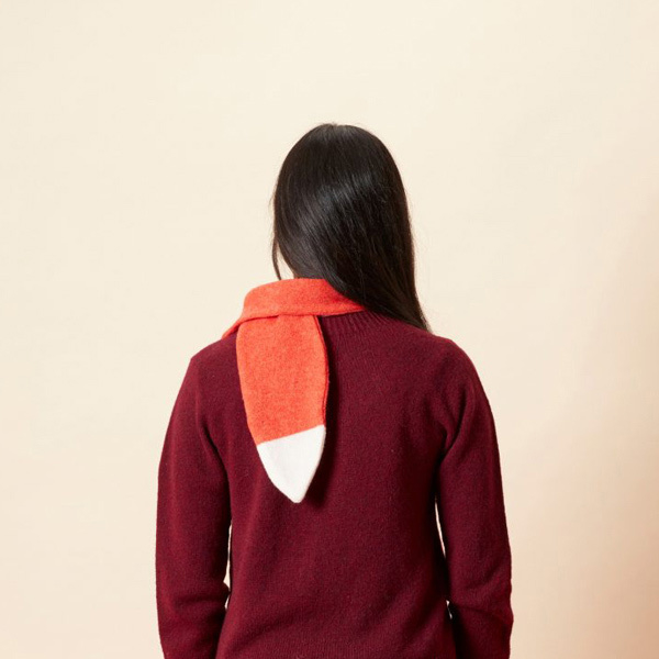 Vos sjaal - red - Donna Wilson