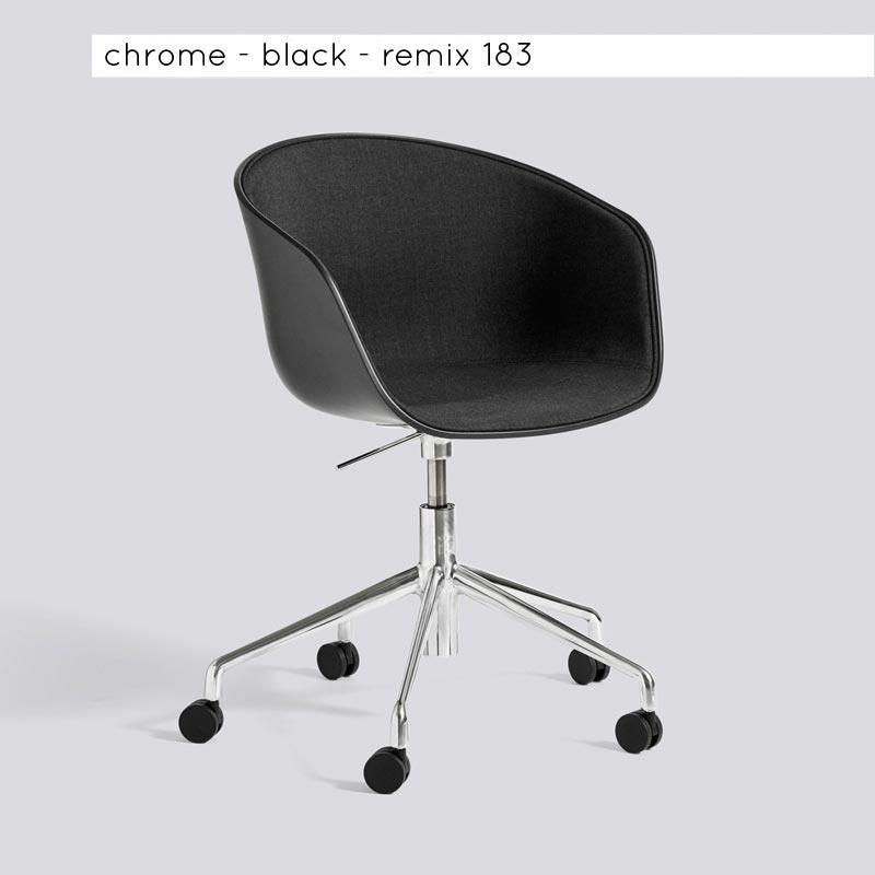 AAC52 - bureaustoel - half gestoffeerd