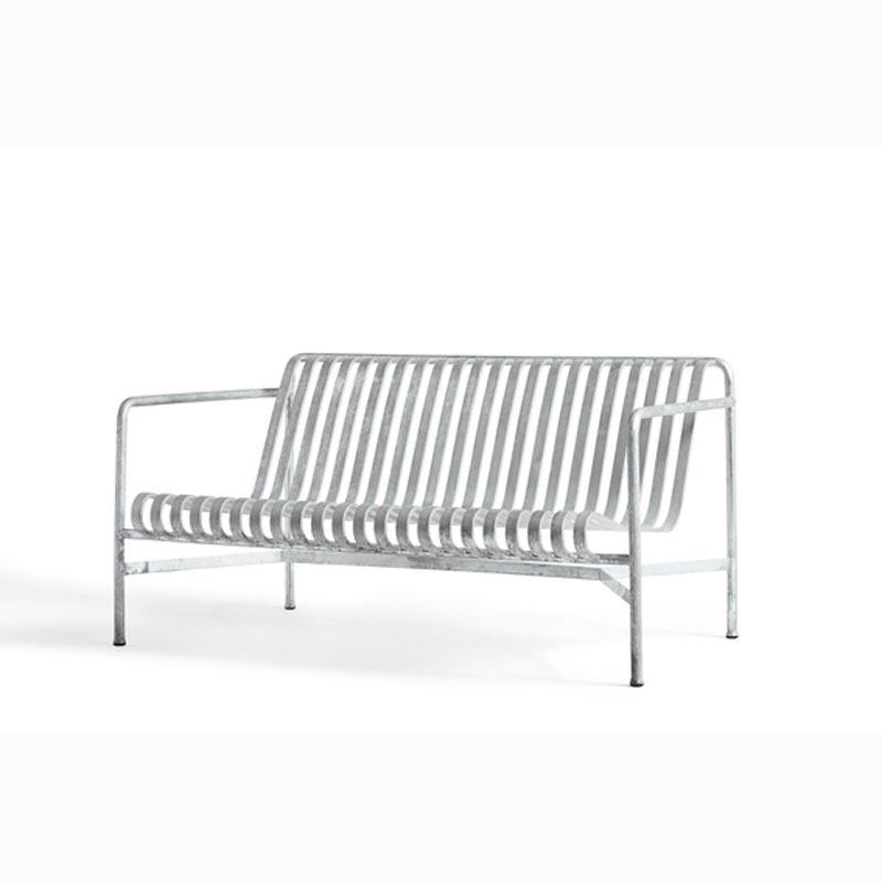 Palissade Lounge Sofa Hot Galvanised - HAY