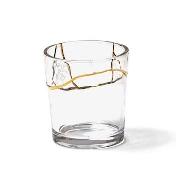 Kintsugi servies - Glas 8,7 cm (no.3)  - Seletti