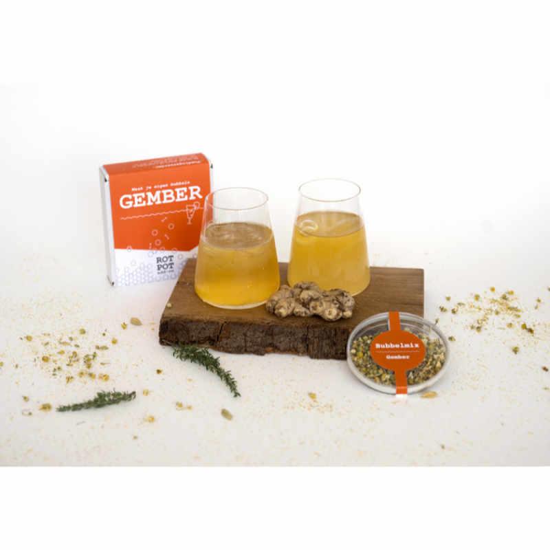RotPot Bubbels Add-on Gember voor het maken van Gemberbier