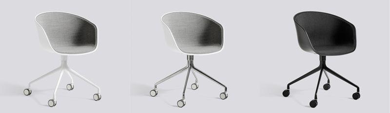 In Hoogte Verstelbare Eetkamerstoel.About A Chair Design Eetkamerstoel Van Hay Kopen Mud In May