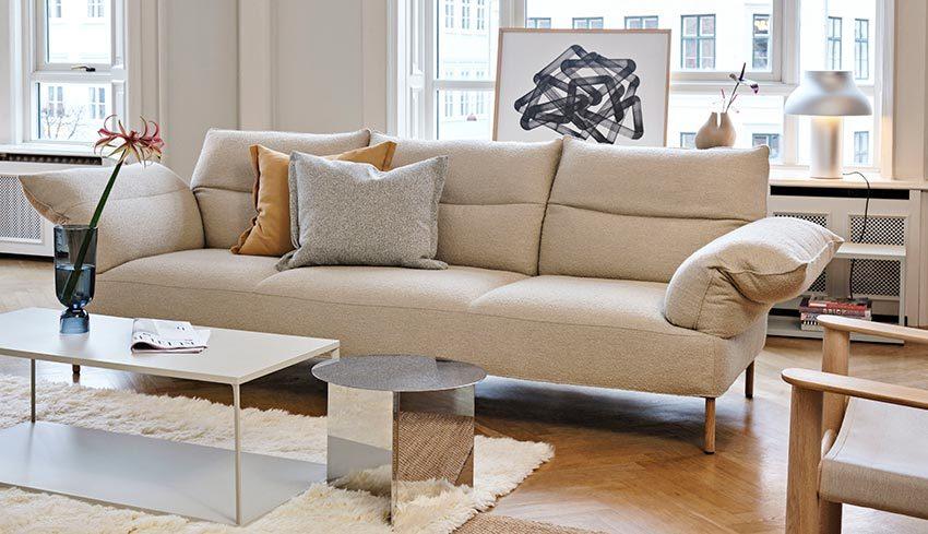 pandarine sofa 3 zits Lint Beige